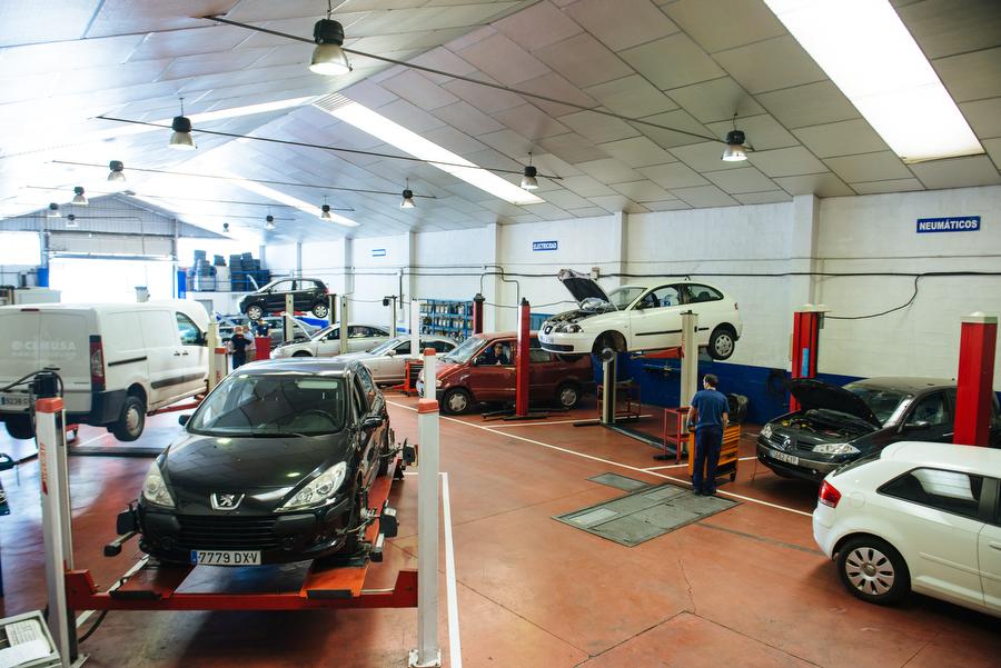 Reparación rápida de vehículos