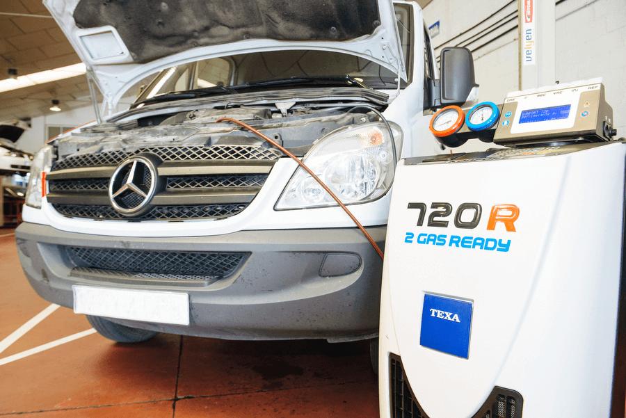 Reparación de aires acondicionados y climatización de vehículos